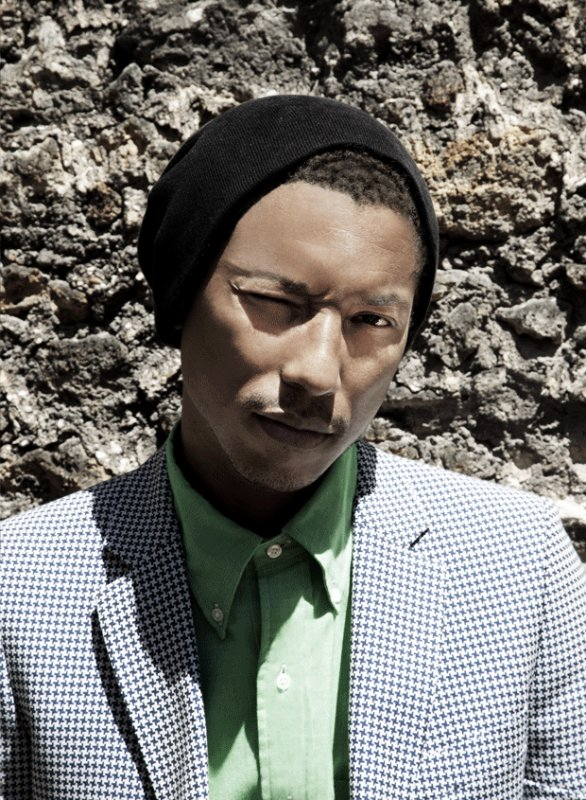 Pharrell - Evening Standard (UK) - Juillet 2012