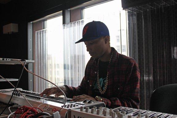 Pharrell - Jungle City Studios - New York City - 13 juillet 2012