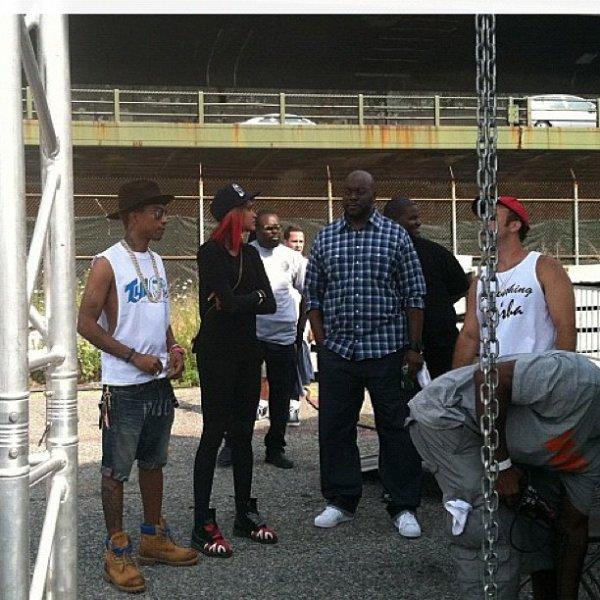 Pharrell - Brooklyn Hip Hop Festival - 14 juillet 2012