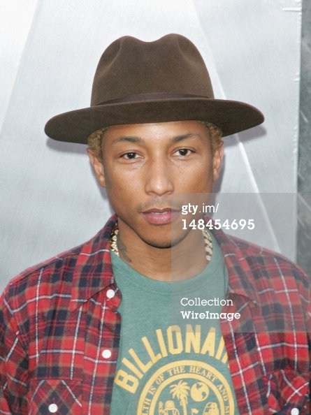 "Pharrell - Avant-première mondiale de ""The Dark Knight Rises - New York City - 16 juillet 2012"