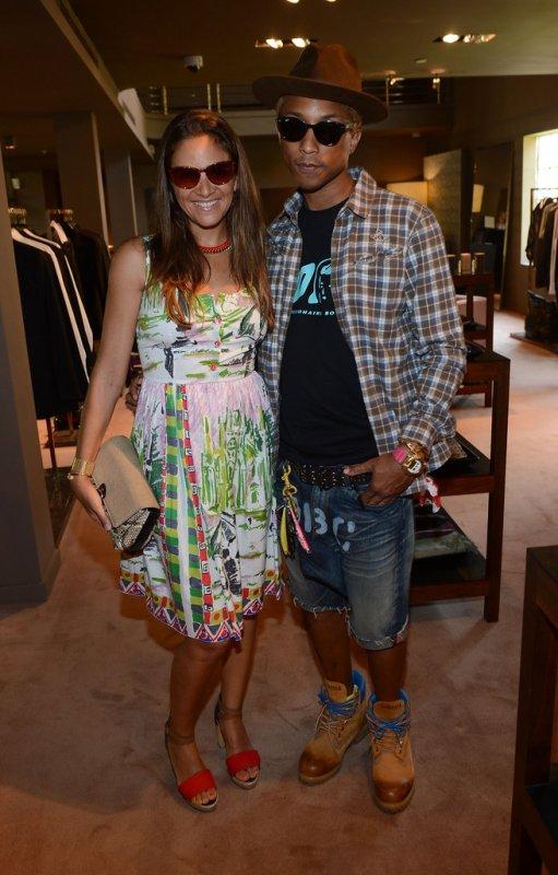 Pharrell - Mercedes-Benz Fashion Week Swim 2013 - Miami, FL - 21 juillet 2012