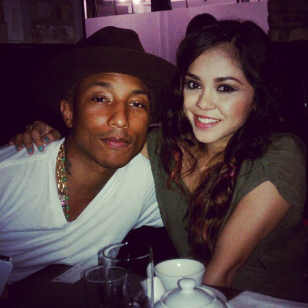 Pharrell & Alyssa Bernal - Miami - 2 août 2012