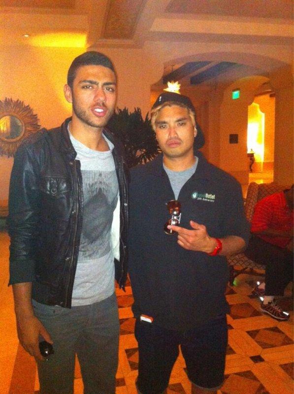 Dan Chad, Shae & Christian Rich - Beverly Hills - 5 septembre 2012
