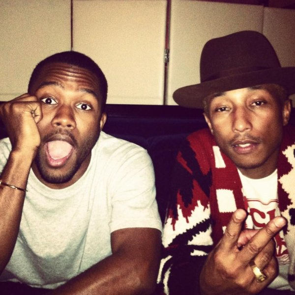 """Pharrell & .... - Sortie de l'album de Lupe Fiasco """"Food & Liquor 2"""" - NYC - 27 septembre 2012"""
