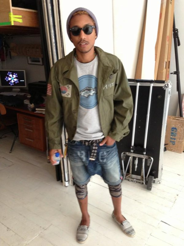 Pharrell BBC Shoot - NYC - 7 octobre 2012