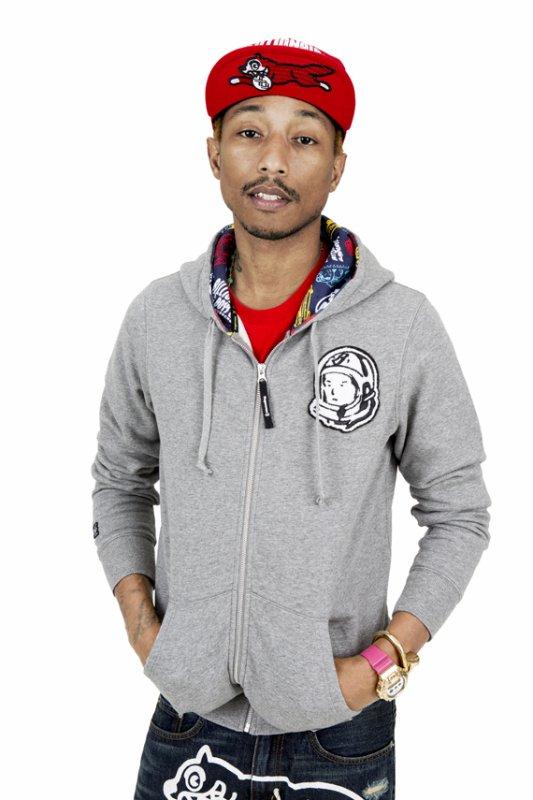 Pharrell - Lookbook collaboration BBC x Fingercroxx x Bigfoot