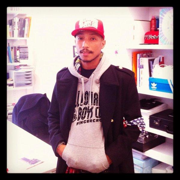 Pharrell - La Short List du Grand Journal - Paris - 10 novembre 2012