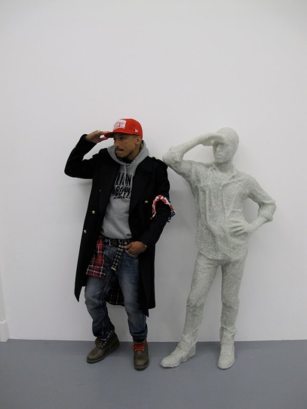 Pharrell - Galerie Perrotin - Paris - 10 novembre 2012