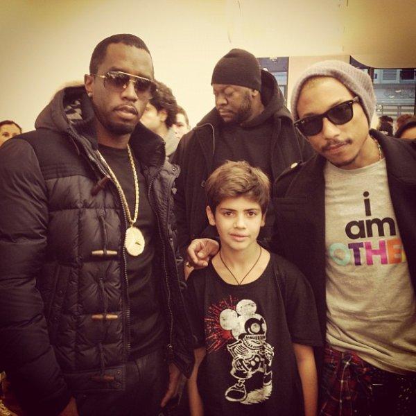Pharrell à Paris - 17 novembre 2012