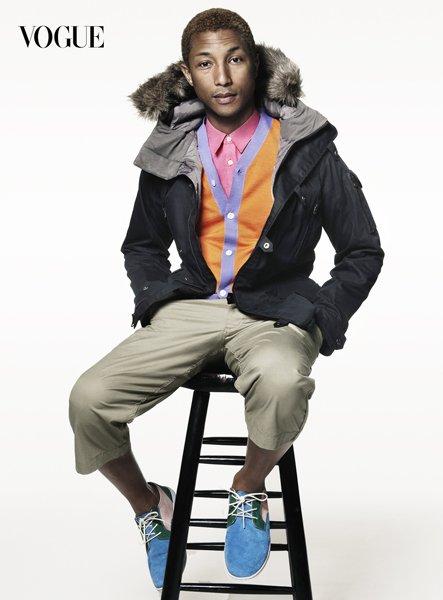 Pharrell - Vogue Décembre