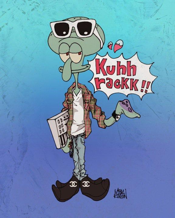 Pharrell (x Family Guy) by Mina Kwon