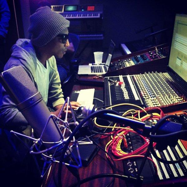 Pharrell & Ronnie Fieg? - 28 décembre 2012