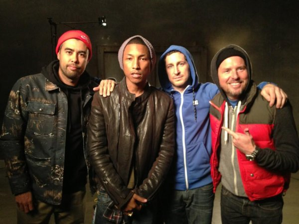 Pharrell - Los Angeles - 16 janvier 2013