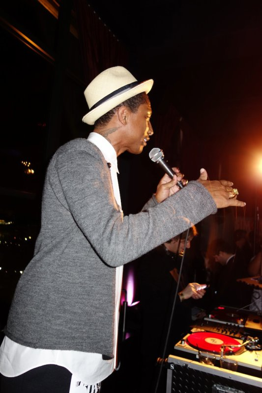 Pharrell - EA SimCity Learn. Build. Create. Inauguration After-Party - Washington - 21 janvier 2013