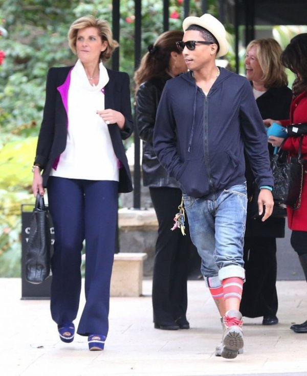 Pharrell - Los Angeles - 19 février 2013