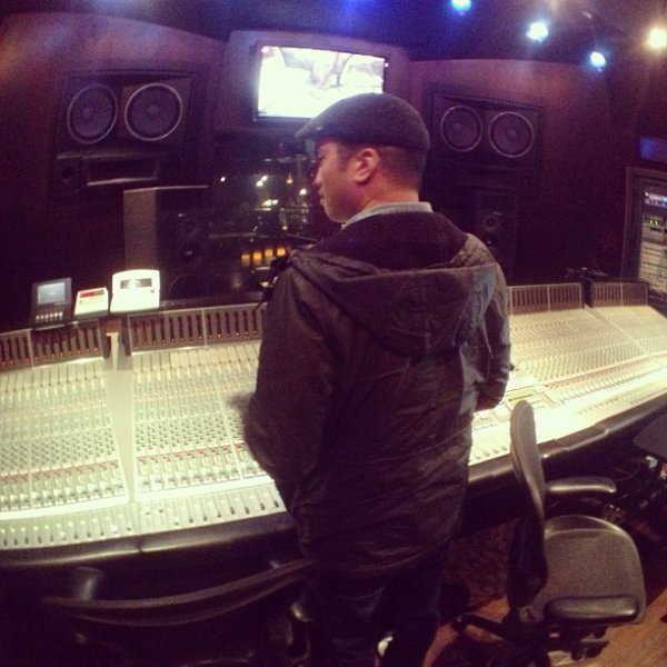 Chad en studio ... - mi-février 2013