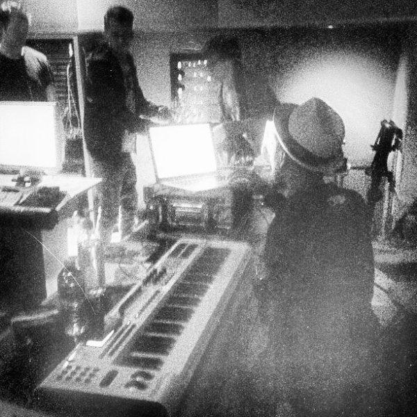 Pharrell en studio avec ... -  Los Angeles - 6 mars 2013