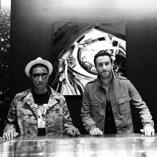 Pharrell - SoHo - 8 mars 2013