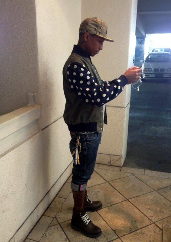 Pharrell - Fin mars 2013