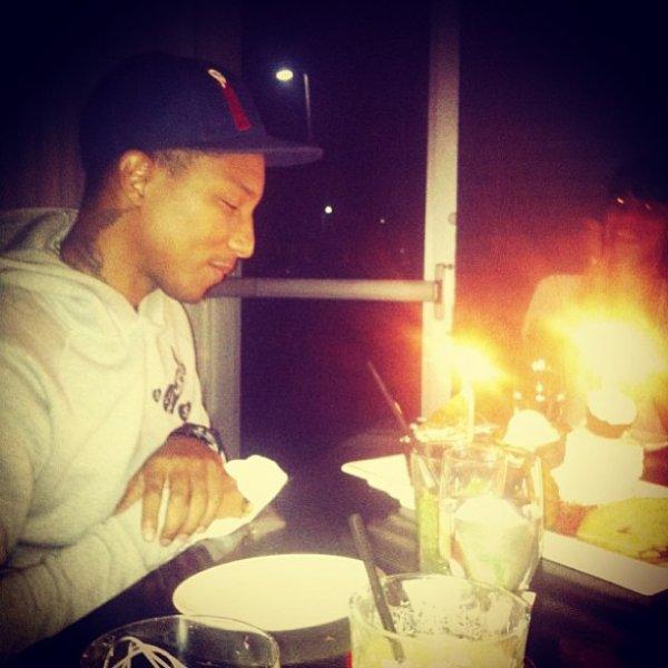 40 ans de Pharrell - Miami - 4 avril 2013