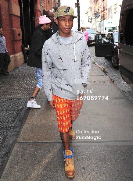 Pharrell - New York City - 19 avril 2013