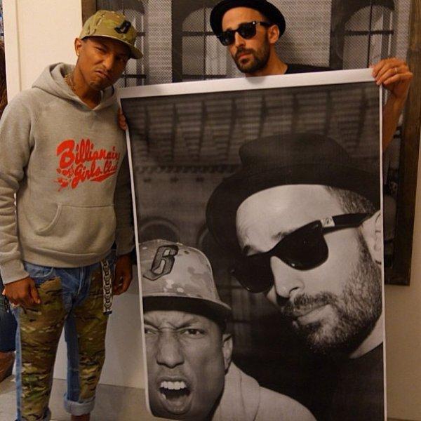 Pharrell & JR - 20 avril 2013