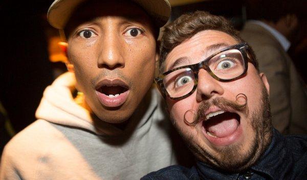 Interview de Pharrell par Tyler Gray - NY - 24 avril 2013