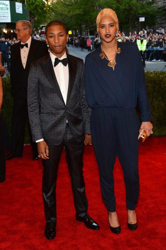 "Pharrell & Helen - MET Ball 2013 ""PUNK: Chaos To Couture"" - NYC - 6 mai 2013"
