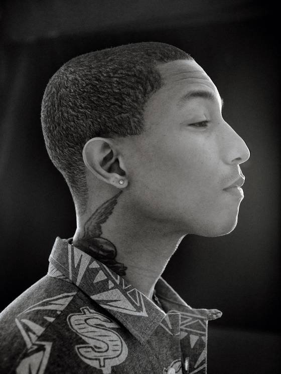 """Pharrell Williams Expands his Palette"""