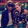 Pharrell en studio avec ... - 7 août 2013