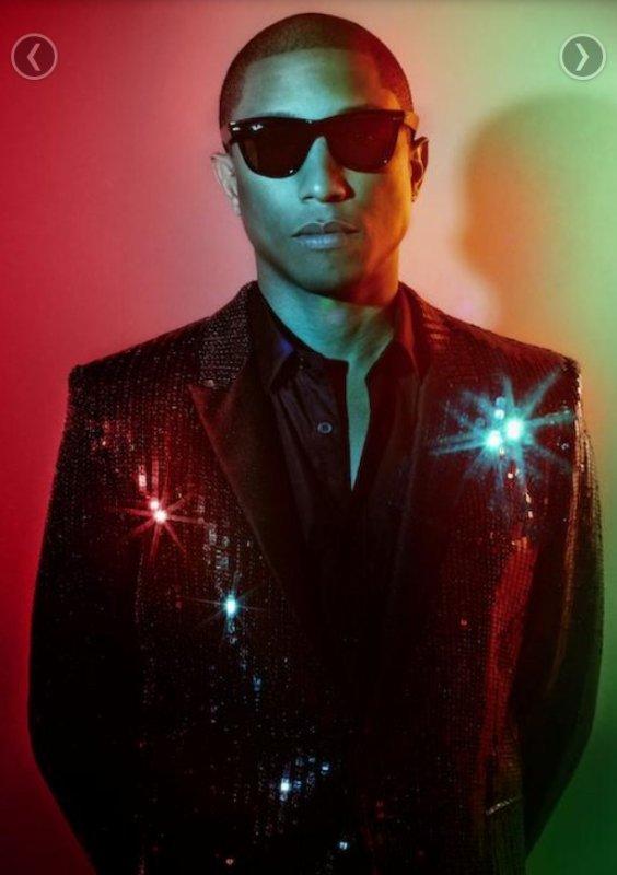 Pharrell & Daft Punk - VIBE Magazine Summer 2013