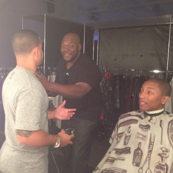 Pharrell - Photoshoot - 22 août 2013
