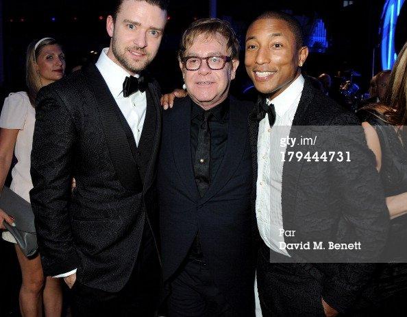 Pharrell - GQ Men of the Year Awards - Londres - 3 septembre 2013
