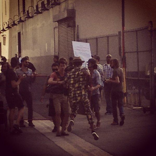 """Tournage du clip de """"Happy"""" -  Los Angeles - 7 & 8 septembre 2013"""