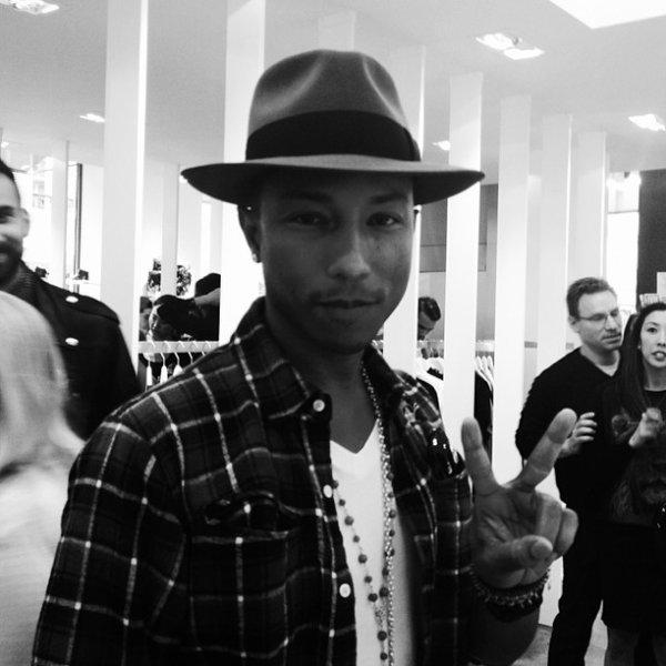Pharrell - Paris - 26 septembre 2013