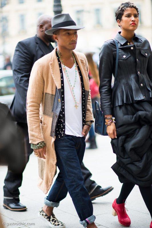 Pharrell - Paris - 28 septembre 2013