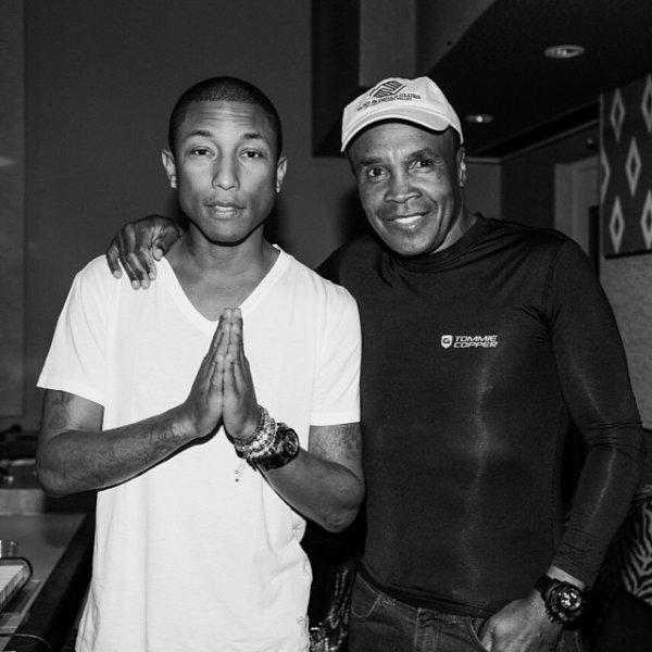 Pharrell & ... - Octobre (?) 2013