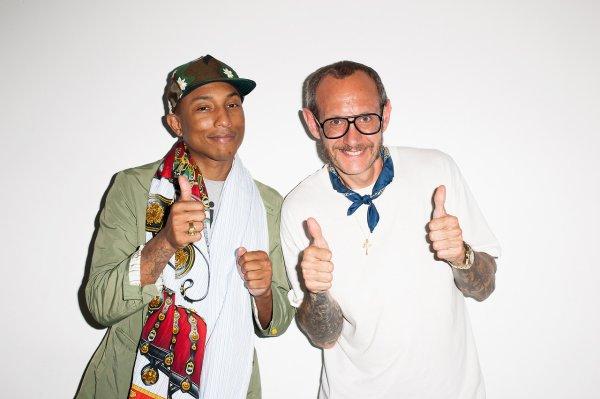 Pharrell par Terry Richardson