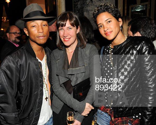 Pharrell - Expo KAWS Galerie Emmanuel Perrotin - NYC - 2 novembre 2013