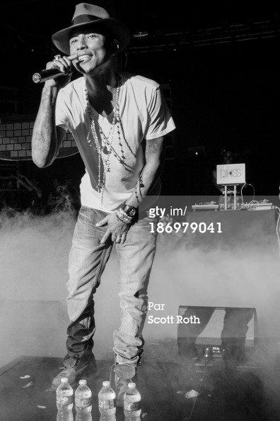 Pharrell - Tournée avec Steve Aoki - NYC - 2 novembre 2013