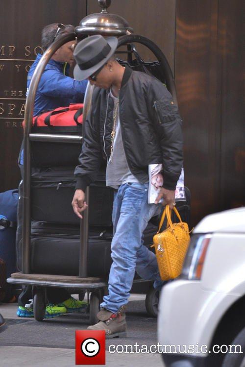 Pharrell - Manhattan, NY - 9 novembre 2013