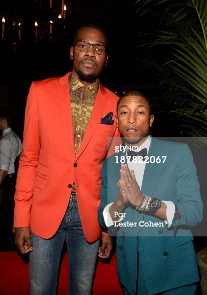 Pharrell - GQ Men of the Year Party - Los Angeles - 12 novembre 2013