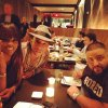 Pharrell - Dîner avec DJ Khaled - NY - 21 décembre 2013