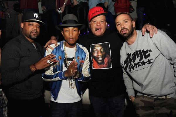 Pharrell - Jay-Z's Magna Carter Tour After Party - Miami, FL - 2 janvier 2014