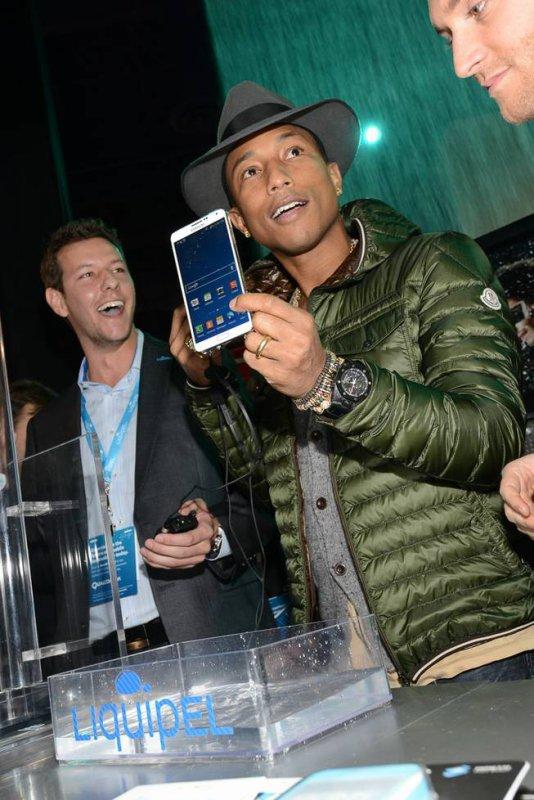 Pharrell - CES pour Liquipel - Las Vegas - 8 janvier 2014