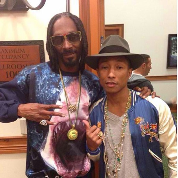 Pharrell & Snoop Dogg - Janvier 2014