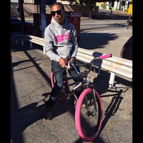 Pharrell - Los Angeles -  Janvier 2014