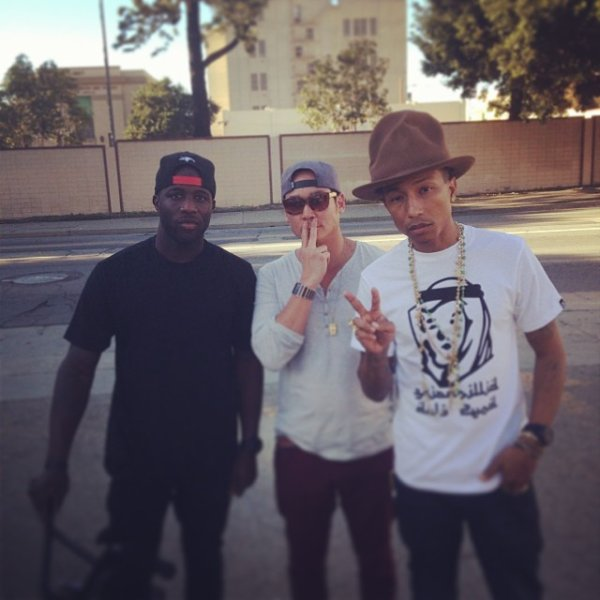Pharrell & ... - LA - 20 janvier 2014