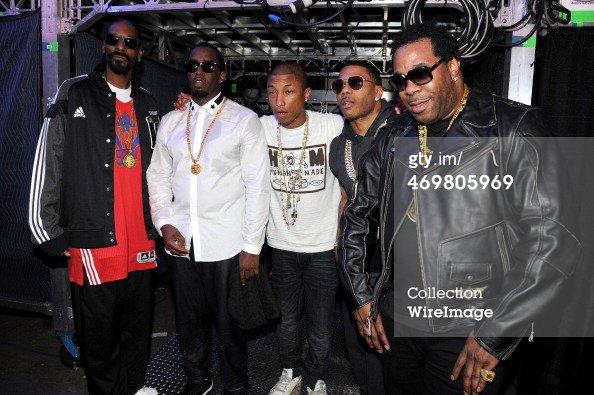 Pharrell - NBA All-Star - Nouvelle-Orléans - 16 février 2014