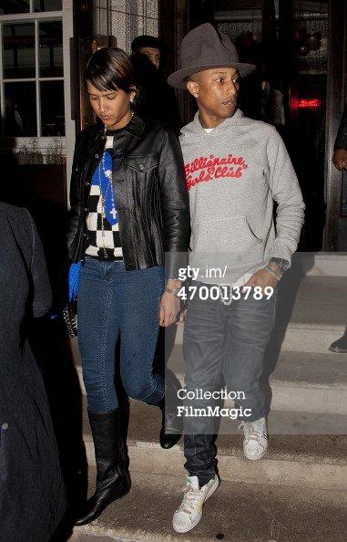 Pharrell & Helen - Londres - 17 février 2014